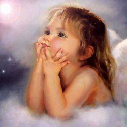 image of beautiful cherub angel