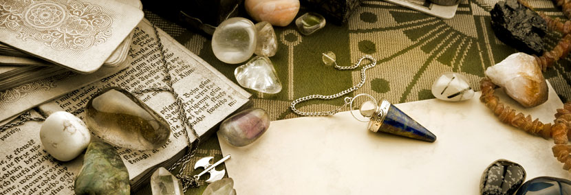 image of psychic tools used by psychics