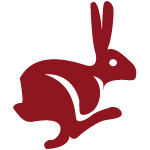 image of the rabbit chinese horoscope sign