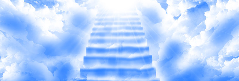 image of the stairs to heaven