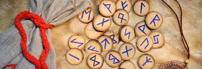 image of the runes used as a psychic modality