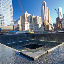 image of the world trade centre memorial