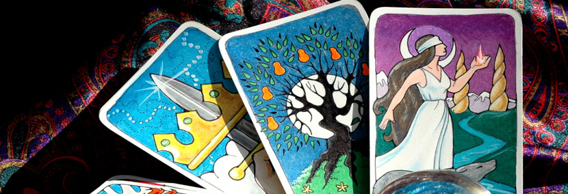 image of tarot cards