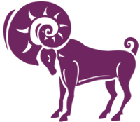 image of the ram representing aries starsign