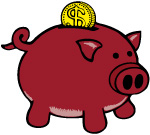 image of a piggy bank representing money prospects in 2017