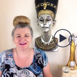 image of rose smith on facebook live doing free spirit readings