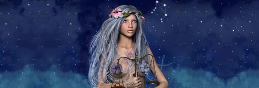 image of libra starsign personality video banner