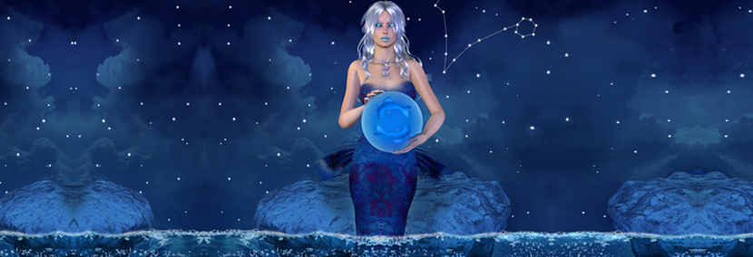 image of pisces starsign personality video banner